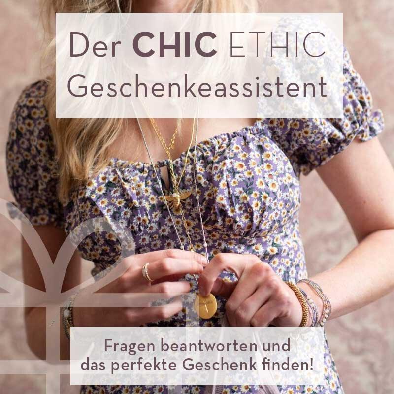 Der Chic Ethic Geschenkeassistent - Fragen beantworten und das perfekte Geschenk finden!