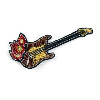 Anstecker Brennende Gitarre