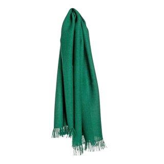 Baby-Alpaka Schal Traveller smaragdgrün 70x200cm