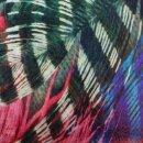 Wollschal Feathers