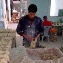 Keramik-Teekanne Azoura, handbemalt; 1,125 Liter