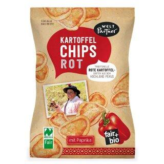 Kartoffelchips rot