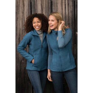 Damen Fleece-Weste, Merinowolle