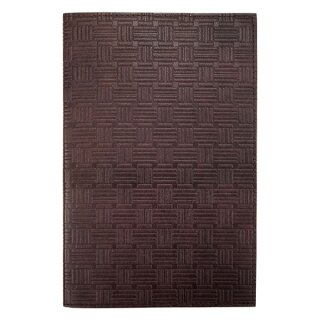 Leder-Notizbuch A5 Bricks braun, nachfüllbar
