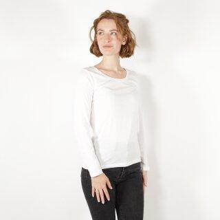 Damen Langarm-Shirt weiß