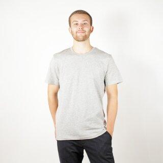 Herren T-Shirt grau meliert