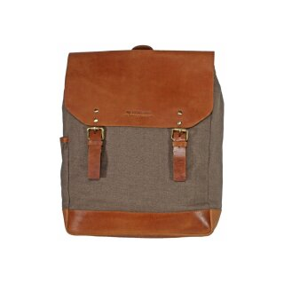 Laptop-Rucksack camel/mokka