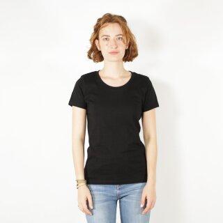 Damen T-Shirt schwarz