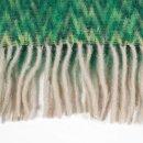 Mohair-Schal Keops grün