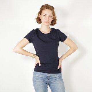 Damen T-Shirt marineblau