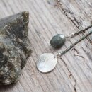 Perlenkette Fairy Libelle mit Labradorit