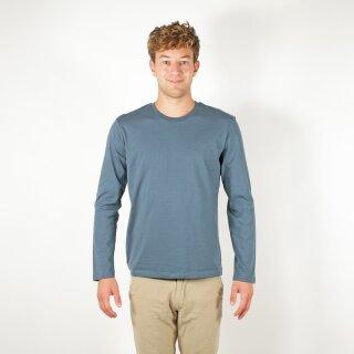 Herren Langarm-Shirt ozean