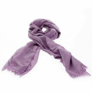 Kaschmir-Schal Priyanka - violett