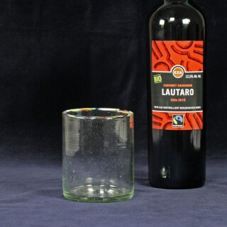 Trinkglas 350ml mundgeblasen