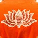 Halbmond-Meditationskissen - Orange