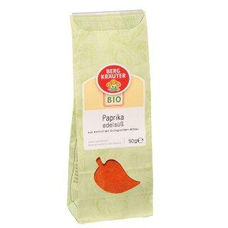 Biogewürz Paprika edelsüß