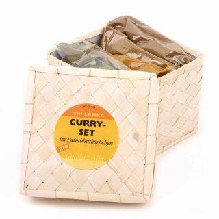 Curry-Set Palmblatt