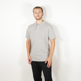 Herren Polo-Shirt grau