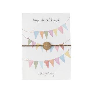 "Schmuck-Postkarte ""Celebrate"""