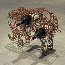 Flaschenhalter Elefant Fahrradkette