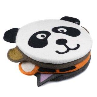 Filz-Sitzkissen Panda