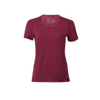 Damen Funktions-Shirt kurzarm, Regular fit, rot