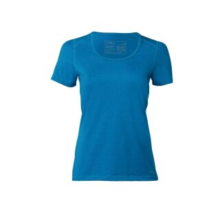 Damen Funktions-Shirt kurzarm, Regular fit, sky