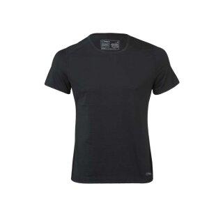 Herren Funktions-Shirt kurzarm, schwarz, Regular fit