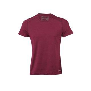 Herren Funktions-Shirt kurzarm, rot, Regular fit