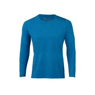 Herren Funktions-Shirt langarm sky, Regular fit