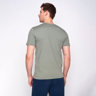 Herren T-Shirt Bike Tour Olive XXL