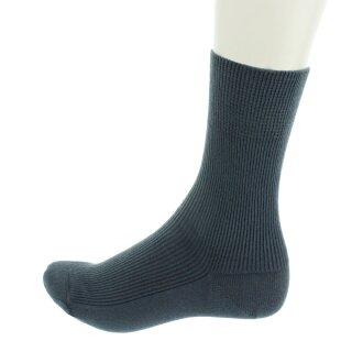 Socken Bio-Baumwolle unisex anthrazit