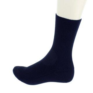 Socken Bio-Baumwolle unisex marine