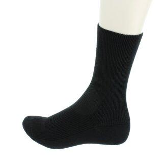 Socken Bio-Baumwolle unisex schwarz
