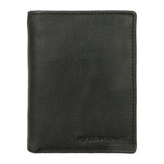 Leder-Geldbörse Notecase, schwarz