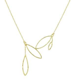 Silberkette Charu, vergoldet
