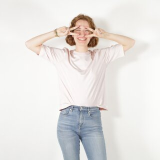 Damen Halbarm-Shirt, cremerosa