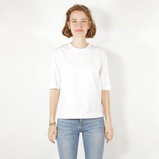 Damen Halbarm-Shirt weiß