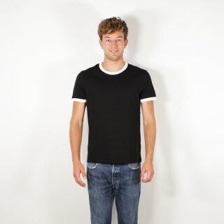 T-Shirt unisex, schwarz/weiß