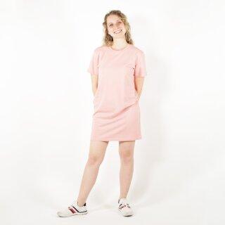 Basic-Kleid rosa