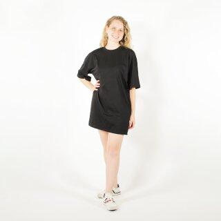 Shirt-Kleid schwarz