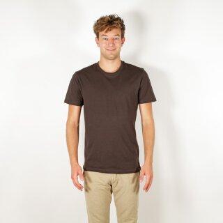Herren T-Shirt schokolade