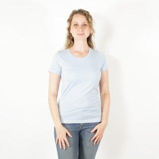 Damen T-Shirt himmelblau