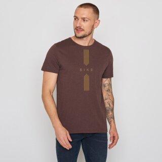 Herren T-Shirt Bike Drive dark chocolate