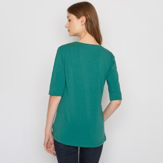 Damen Shirt 3/4 Arm Birdie jungle green