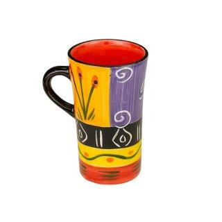 Keramik-Espressotasse Doppio bunt