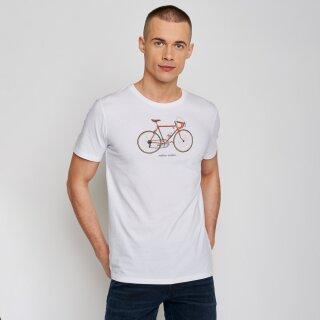 Herren T-Shirt Bike 51 white