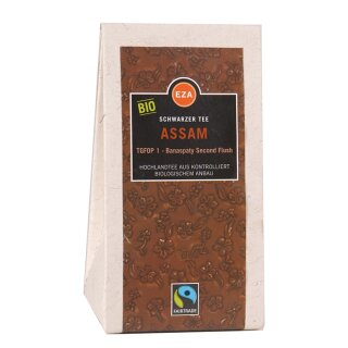 Assam Schwarzer Tee TGFOP1, Second Flush, lose 100g, kbA