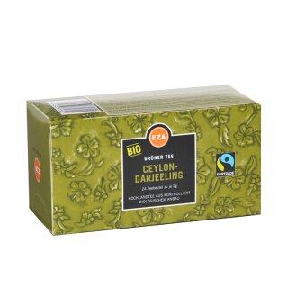 Ceylon Darjeeling grün Beutel