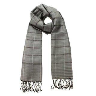 Seiden-Schal Elegance grigio